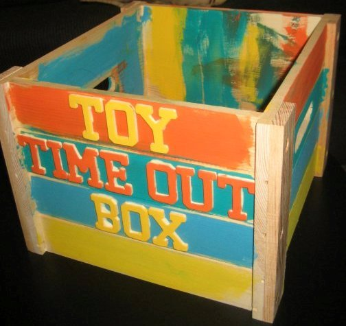 Toy Time Out Box