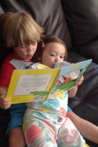 reading to sissie