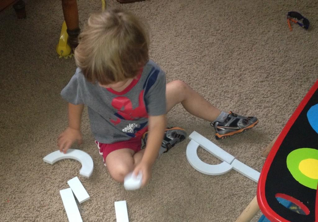 building letter b