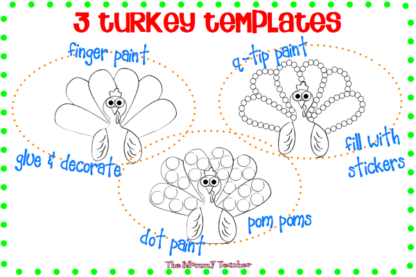 Turkey Art Template display.001