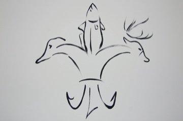 sportsman fleur de lis