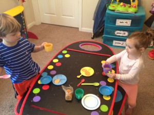 Playroom Tea Party