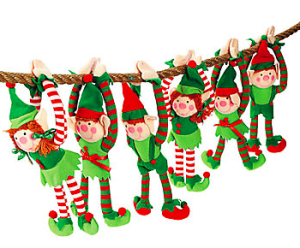 Stuffed Elves