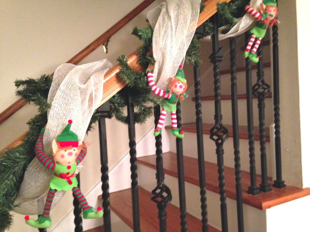 Decorating with Elves