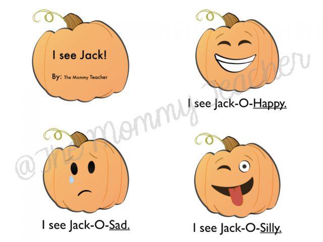 Jack O Lantern Emoji Book The Mommy Teacher