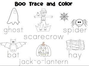 Boo trace and color